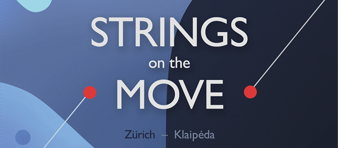 Strings on the move